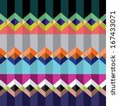 zig zag seamless pattern | Shutterstock .eps vector #167433071