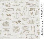 vector abstract seamless... | Shutterstock .eps vector #1674392701