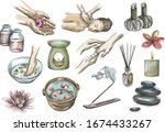 colorful hand drawn sketch of... | Shutterstock .eps vector #1674433267