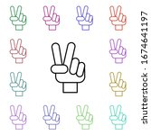 rock  hand  sign  world multi...