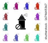 aerosol  forbidden multi color...