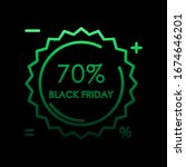 sticker tag 70 black friday...
