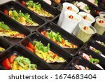 Catering Food With Healthy...