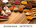 a selection of various colorful ... | Shutterstock . vector #167474171