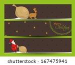 website header or banner set... | Shutterstock .eps vector #167475941