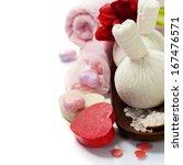 bath and spa valentine theme... | Shutterstock . vector #167476571