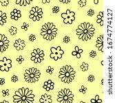 vector seamless pattern of...   Shutterstock .eps vector #1674774127
