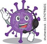 charming bovine coronavirus... | Shutterstock .eps vector #1674798601