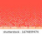 light red  yellow vector... | Shutterstock .eps vector #1674859474