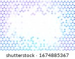 light pink  blue vector layout... | Shutterstock .eps vector #1674885367