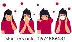 covid 19. coronavirus... | Shutterstock .eps vector #1674886531