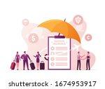 aviation insurance  aircraft...   Shutterstock .eps vector #1674953917