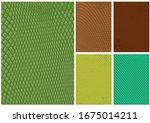 set of reptile skin drawings in ...   Shutterstock .eps vector #1675014211