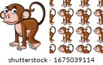 seamless background design with ...   Shutterstock .eps vector #1675039114