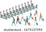 coronavirus covid 19 disease...   Shutterstock .eps vector #1675137394