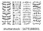 decorative text dividers.... | Shutterstock . vector #1675188001