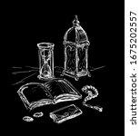 quran. islam. ramadan  islamic...   Shutterstock .eps vector #1675202557