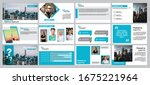 light blue presentation... | Shutterstock .eps vector #1675221964