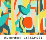 seamless abstract background...   Shutterstock .eps vector #1675224391