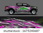car decal design vector....   Shutterstock .eps vector #1675240687