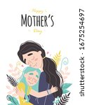Mothers Day Greeting Card. Mom...
