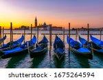Sunrise In San Marco Square...