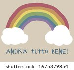 everything will be fine  is... | Shutterstock .eps vector #1675379854