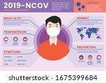 corona virus 2020 info graphic. ... | Shutterstock .eps vector #1675399684