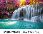 Beautyful Waterfall Nature...