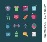 health   fitness icons