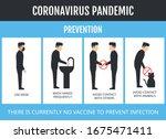 coronavirus covid 19 related... | Shutterstock .eps vector #1675471411