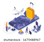 travel vacation landing page...