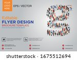 poster and flyer design with g... | Shutterstock .eps vector #1675512694
