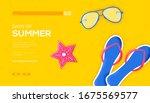 beach flipper and sunglasses...