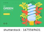 saving lamp flyer  web banner ...