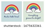 a rainbow for hope and wish  ... | Shutterstock .eps vector #1675632361