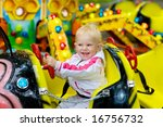 child in park of attractions | Shutterstock . vector #16756732