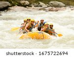 Raft Water White Teamwork...