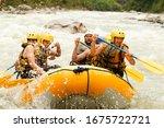 Raft Water White Team Sport...