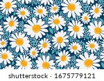 vector seamless pattern.... | Shutterstock .eps vector #1675779121