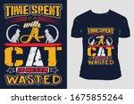 Cat Custom Typography Trendy...