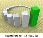 3d business statistics | Shutterstock . vector #16758940