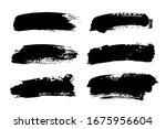 vector paintbrush set  brush...   Shutterstock .eps vector #1675956604