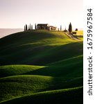 Asciano  Tuscany  Italy   May ...