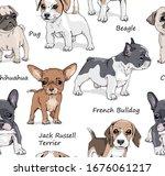 seamless wallpaper pattern....   Shutterstock .eps vector #1676061217
