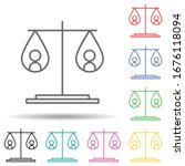 equality of weights multi color ...