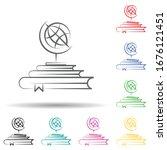 discover multi color set icon....