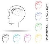 human brain  businessman hand...