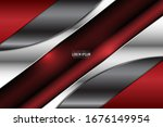 elegant metallic background... | Shutterstock .eps vector #1676149954