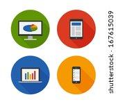 responsive design. flat icons...
